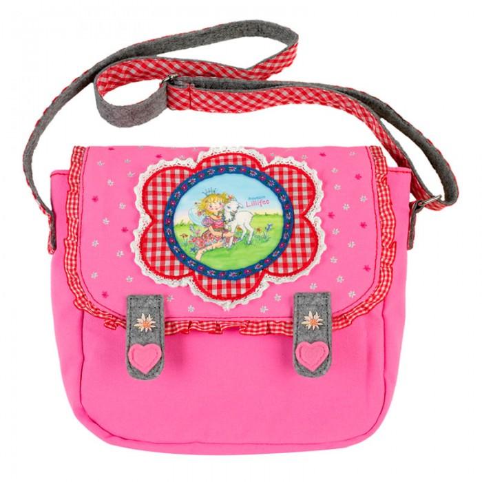 Spiegelburg Сумка Prinzessin Lillifee 30582Сумка Prinzessin Lillifee 30582Компактная сумка Prinzessin Lillifee для маленьких принцесс! Выполнена в розовом цвете с удобным ремешком и аппликацией. В нее Ваша малышка сможет положить все самые необходимые вещи для садика или прогулки.  Основные характеристики:   Размер: 22 x 20 x 7 см<br>