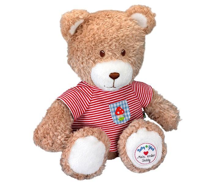 Мягкая игрушка Spiegelburg Плюшевый Мишка Teddy 90177Плюшевый Мишка Teddy 90177Spiegelburg Плюшевый Мишка Teddy 90177 мягкая игрушка.  Оригинальная игрушка обязательно понравится ребенку, ведь с ней можно придумать столько интересных игр!  Симпатичный медвежонок изготовлен из приятной на ощупь ткани.  Развивает:воображение, тактильное восприятие, хватательный рефлекс.<br>