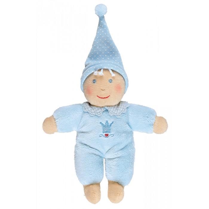 Spiegelburg Плюшевая Кукла Baby Gluck 94067Плюшевая Кукла Baby Gluck 94067Spiegelburg Плюшевая Кукла Baby Gluck 94067 эта милая очаровательная кукла прекрасно подойдет вашему малышу.  Кукла выполнена из высококачественных гипоаллергенных материалов, совершенно безопасных для детишек. Кукла очень мягкая и приятная на ощупь, ее не захочется выпускать из рук. Теперь у вашего малыша появится еще один друг, с которым он будет играть, общаться и засыпать в обнимку.  Если кукла испачкалась или запылилась, ее можно постирать при температуре 30-40 градусов.  Кукла идет в красивой подарочной упаковке. Играя с ней, ребенок будет развивать тактильные навыки и мелкую моторику рук.<br>
