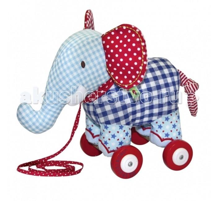 Каталка-игрушка Spiegelburg Слоник музыкальный Baby Glück 10465