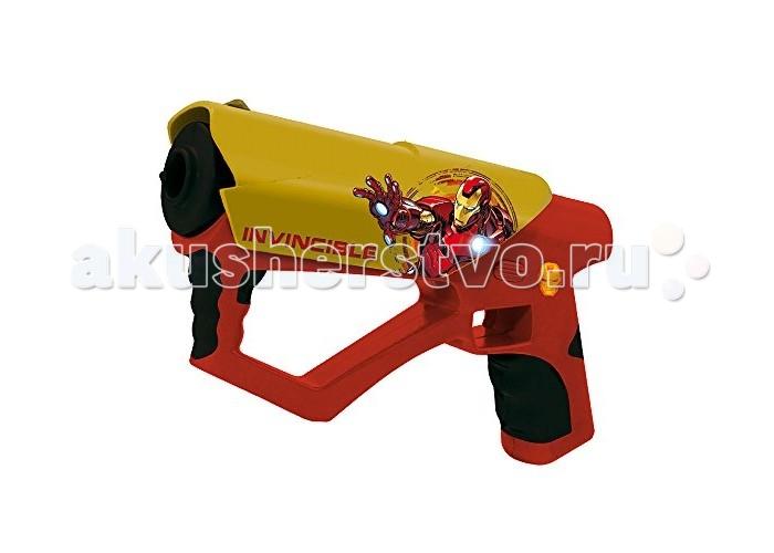 IMC toys Набор игрушечного оружия МстителиНабор игрушечного оружия МстителиНабор игрушечного оружия IMC toys Мстители  Оружие стреляет инфракрасным лучом света, создавая световые и звуковые эффекты.  В наборе два бластера.<br>