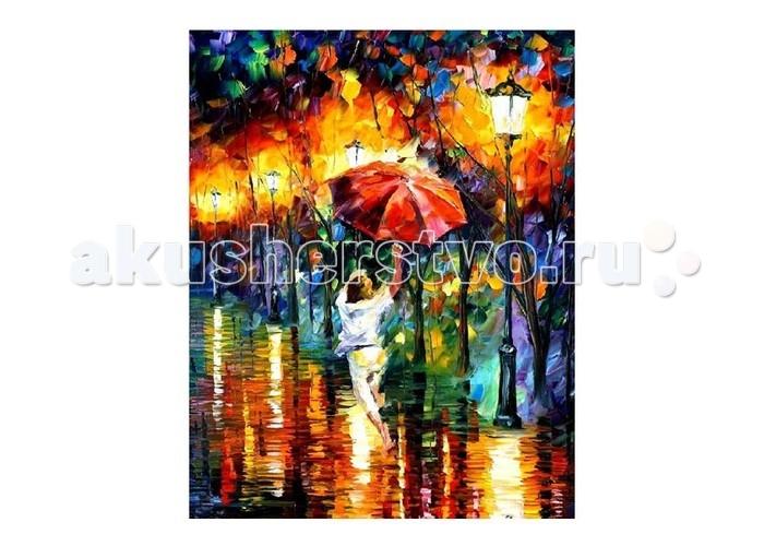 Molly Картина по номерам Л.Афремов Танцующая под дождем