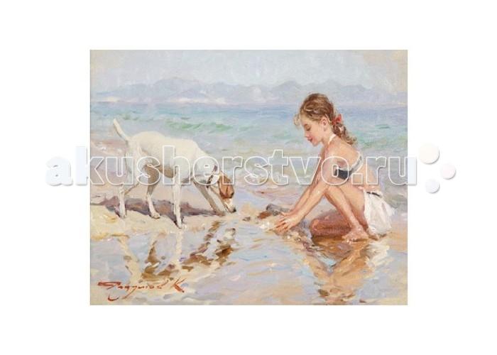 Molly Картина по номерам К.Разумов С другом на пляже