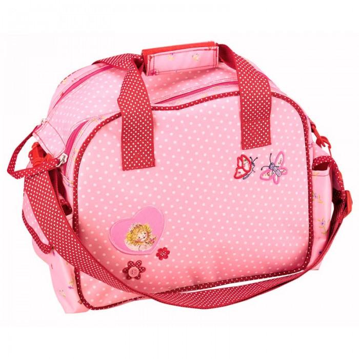 Spiegelburg Спортивная сумка Prinzessin Lillifee 30183Спортивная сумка Prinzessin Lillifee 30183Спортивная сумка Prinzessin Lillifee имеет вместительное внутреннее отделение, ручки с фиксатором на липучке и съемный плечевой ремень. Основной отсек на молнии.  Основные характеристики:   Размер: 30 х 24 х 16 см<br>
