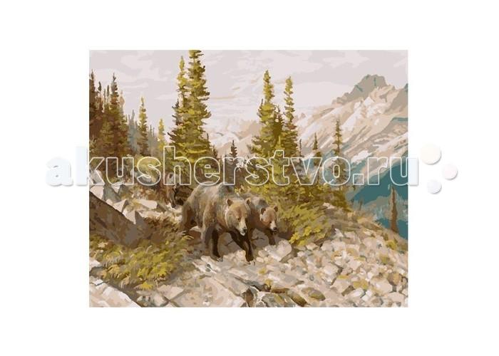 Molly Картина по номерам Медведи в горахКартина по номерам Медведи в горахMolly Картина по номерам Медведи в горах GX8475  Картина по номерам - это интеллектуальное рисование. Просто взяв в руки краски и следуя нумерации на фрагментах картинки, Вы создаете оригинальный рисунок. Раскраска по номерам учит штриховать рисунки в заданных областях и раскрашивать их, не заходя за контур, концентрироваться на отдельных предметах, планировать свою деятельность.  Комплектация: - холст, сделанный из чистого хлопка на подрамнике; - набор акриловых красок, индивидуально разлитый для каждой картины; - набор кистей; - крепеж для подвешивания картины; - контрольный лист; - акриловый лак.  Размер: 40х50 см.<br>