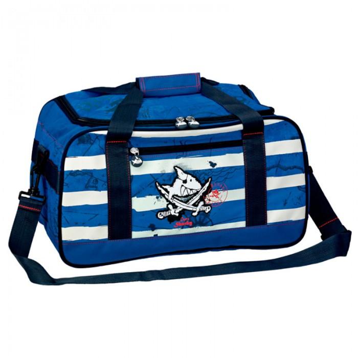 Spiegelburg Спортивная сумка Captn Sharky 10877Спортивная сумка Captn Sharky 10877Отличная сумка для занятий спортом для маленьких пиратов. Практичная и внутренняя планировка спортивной сумки Captn Sharky позволяет идеально разместить обувь и спортивную одежду отдельно друг от друга.   Основные характеристики:   Размер: 42 х 23 х 22 см<br>