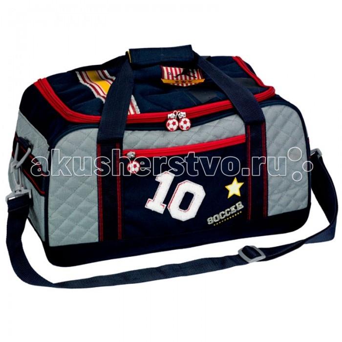 Spiegelburg Спортивная сумка Soccer 10883Спортивная сумка Soccer 10883Отличная сумка для занятий спортом для активных мальчиков. Практичная и внутренняя планировка спортивной сумки Soccer позволяет идеально разместить обувь и спортивную одежду отдельно друг от друга.   Основные характеристики:   Размер: 42 х 23 х 22 см<br>