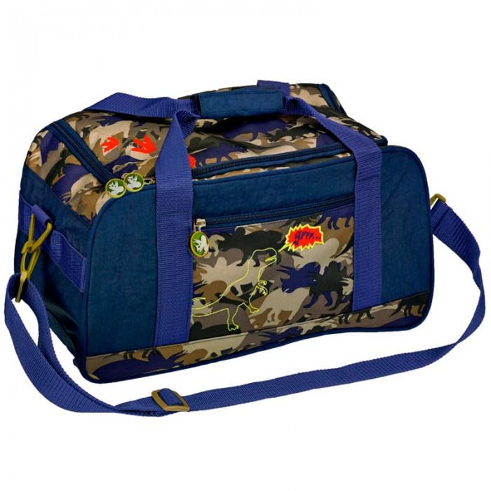 Spiegelburg Спортивная сумка T-Rex World 11855Спортивная сумка T-Rex World 11855Спортивная сумка T-Rex World - стильная и вместительная, два внутренних отделения для раздельного хранения обуви и спортивной одежды сьемный регулируемый плечевой ремень. В ней Вашему ребенку будет удобно носить спортивную обувь и форму на тренировки в кружках и секциях.   Основные характеристики:   Размер: 35 х 25 х 20 см<br>