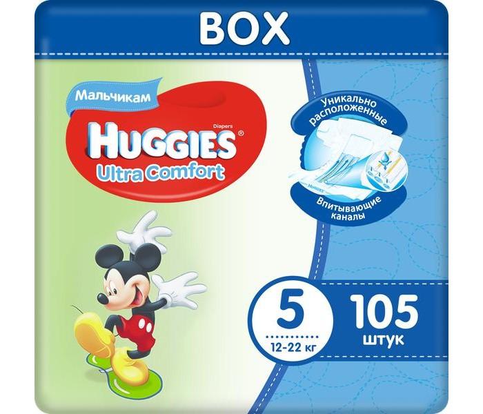 Huggies ���������� Ultra Comfort DISNEY Box ��� ��������� 5 (12-22 ��) 105 ��.