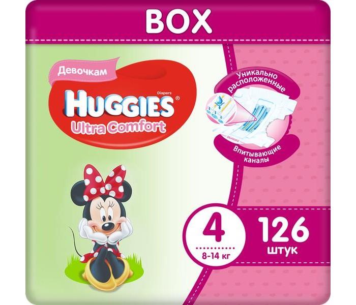 Huggies ���������� Ultra Comfort Disney Box ��� ������� 4 (8-14 ��) 126 ��.