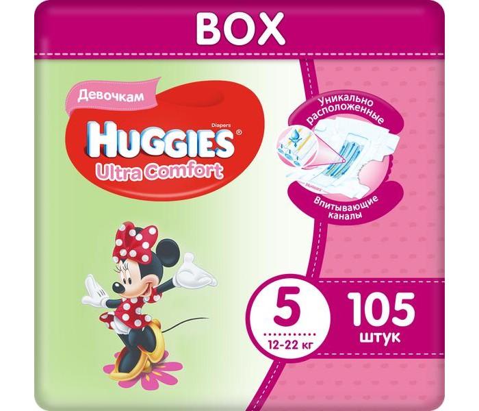 Huggies ���������� Ultra Comfort Disney Box ��� ������� 5 (12-22 ��) 105 ��.