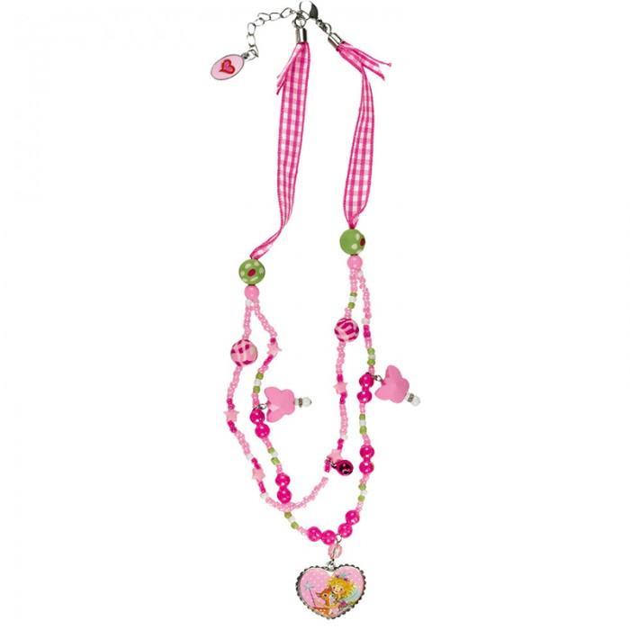 Spiegelburg Ожерелье Prinzessin Lillifee 93332Ожерелье Prinzessin Lillifee 93332Милое ожерелье Prinzessin Lillifee с меняющейся длиной. Ваша малышка будет самой модной в нем.<br>