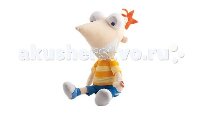 Интерактивная игрушка IMC toys Фигурка мягкая Финес Disney
