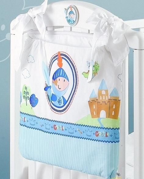 Карманы и панно Roman Baby Сумка на кроватку Principe