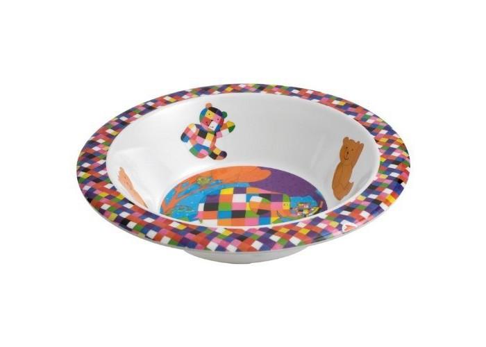 Petit Jour Тарелка глубокая ElmerТарелка глубокая ElmerPetit Jour Тарелка глубокая Elmer выполнена из прочного и безопасного материала.  Широкие края и нескользящее дно помогают малышу учиться кушать самостоятельно.  Подходит для мытья в посудомоечной машине и не подходит для горячей еды и микроволновой печи.  Размер: 16.5х4 см<br>