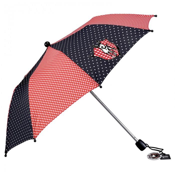 Детский зонтик Spiegelburg Зонт Rebella 45317Зонт Rebella 45317Стильный зонт из коллекции Rebella  подойдет молодым девушкам в возрасте от 11 до 15 лет. С таким зонтом она будет чувствовать себя уникальной и особенной. В сложенном состоянии он прекрасно поместится в любой сумке или рюкзаке.   Основные характеристики:   Размер: &#216;80 см<br>