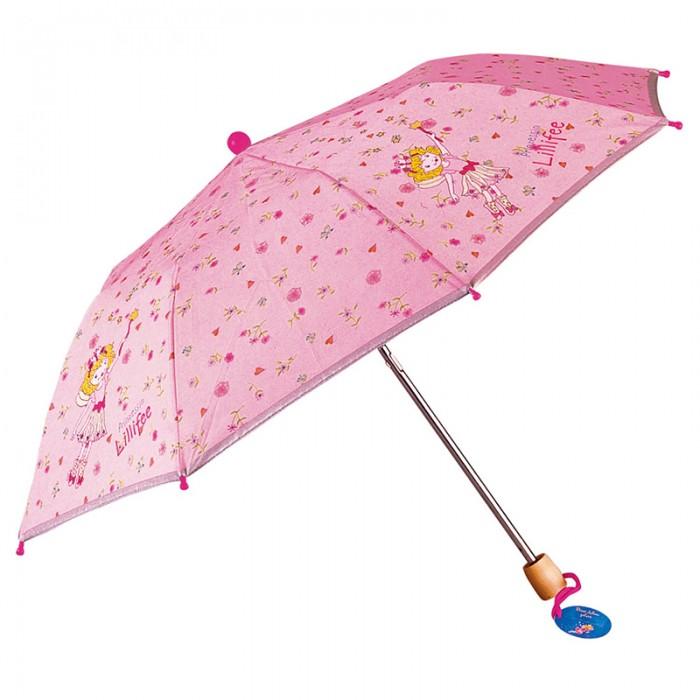 Детский зонтик Spiegelburg Зонт Prinzessin Lillifee 6716Зонт Prinzessin Lillifee 6716Складной зонтик из коллекции Prinzessin Lilifee с изображением сказочных персонажей, несомненно, станет любимой игрушкой для ребенка. Легкий и удобный в применении он защитит его в любую, даже самую дождливую погоду.  Основные характеристики:   Размер: &#216;80 см<br>