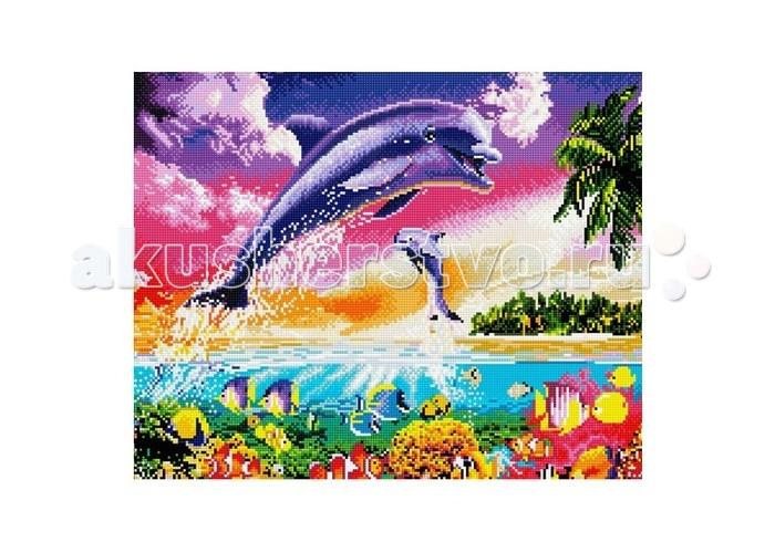 Molly Мозаичная картина Танец дельфинов