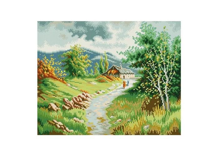 Molly Мозаичная картина Жаркий полдень в горах