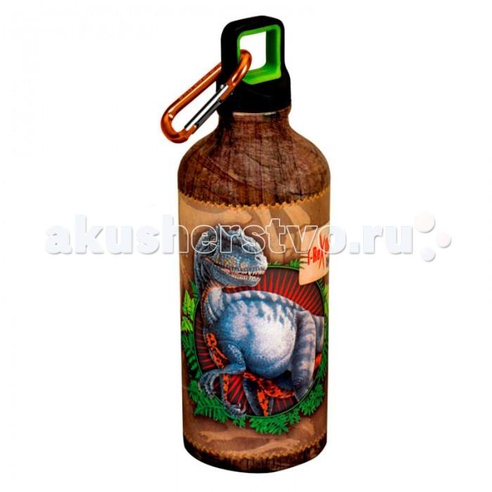 Поильник Spiegelburg Бутылка для питья T-Rex 21657Бутылка для питья T-Rex 21657Бутылка для питья T-REX для любителей динозавров. Отлично подойдет для школы, занятий спортом или путешествий. Удобное горлышко с закручивающейся крышкой и карабином.  Основные характеристики:   Размер: 19 см<br>