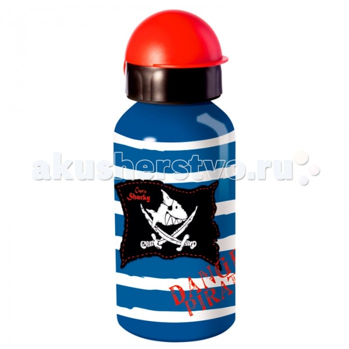 Поильник Spiegelburg Бутылка для питья Capt'n Sharky 11083