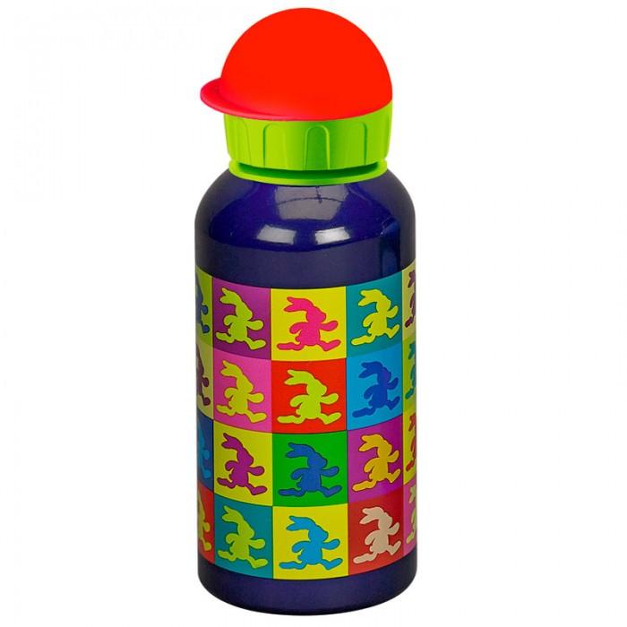 Поильник Spiegelburg Бутылка для питья Felix 11239Бутылка для питья Felix 11239Бутылка для питья Felix не помнется и не заржавеет. На ее корпусе вы найдете милый рисунок разноцветных зайчиков, которые бегают. Это означает, что бутылочка с водой очень пригодится, если ваш ребенок будет заниматься спортом и активными играми.  Вы можете давать бутылочку ребенку в школу или на прогулку, а также брать ее в поездку. Из нее удобно пить, а пластиковая крышка плотно закрывает бутылку.  Основные характеристики:   Размер: 19 см<br>