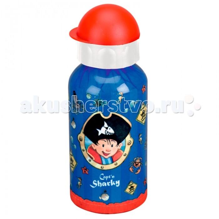 Поильник Spiegelburg Бутылка для питья Captn Sharky 21655Бутылка для питья Captn Sharky 21655Бутылка для питья коллекции Capt'n Sharky для отважных пиратов. Легкая, удобная, практичная.   Основные характеристики:   Размер: 17 см<br>