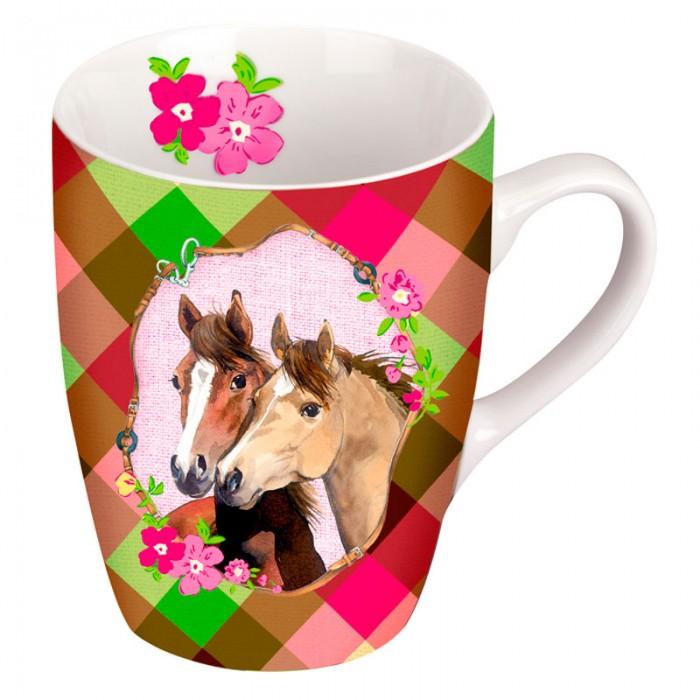 Spiegelburg Кружка Pferdefreunde 10617Кружка Pferdefreunde 10617Кружка Pferdefreunde для девочек. Нежной расцветки с изображением лошадки. В подарочной упаковке.  Основные характеристики:   Размер: 10 х 8 см<br>