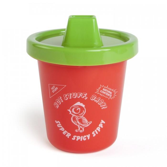 Поильник Gamago Для детей SrirachaДля детей SrirachaПоильник Sriracha Sippy Cup для детей  Удобный и стильный поильник для малыша.   Материал: пластик (не содержит бисфенол А) Размеры: 10 х 10 х 12 см Объем: 225 мл  Для детей от 6 месяцев<br>