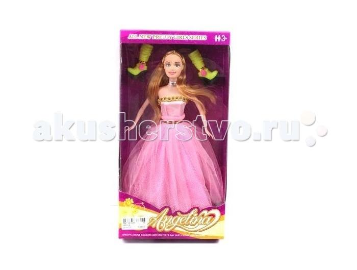Shantou Gepai Кукла Ангелина 29 смКукла Ангелина 29 смShantou Gepai Кукла Ангелина 29 см  Маленькая подружка для Вашей малышки Игрушка предназначена для сюжетно-ролевых игр, способствует развитию воображения, познавательного мышления и моторики.  Возраст: от 3 лет Высота куклы: 29 см<br>