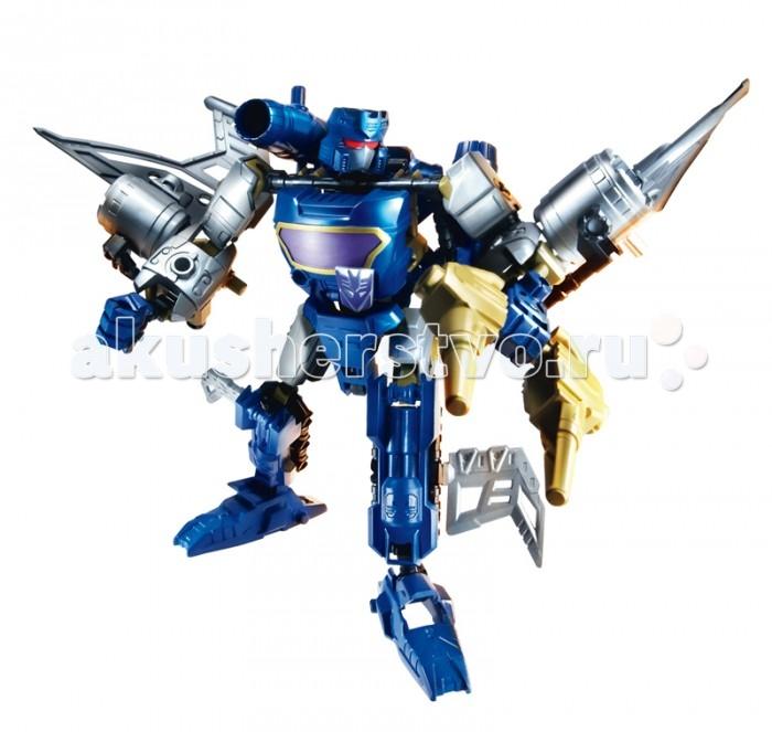 Transformers Констракт Боты Десептиконы СаундвейвКонстракт Боты Десептиконы СаундвейвHasbro Трансформеры Констракт Боты Десептиконы Саундвейв.  Конструктор Трансформеры Construct-Bots / Констракт Бот Десептиконы Саундвейв – это интеллектуальное развлечение для юного поклонника вселенной трансформеров. Из 48 деталей собирается разведчик десептиконов. Закончив своего персонажа, вы сможете трансформировать его в компактный, но мощный самолет, оснащенный целым оружейным арсеналом.  Детали конструктора Констракт Бот хранятся в пластиковой коробке, которая также входит в комплект поставки.<br>