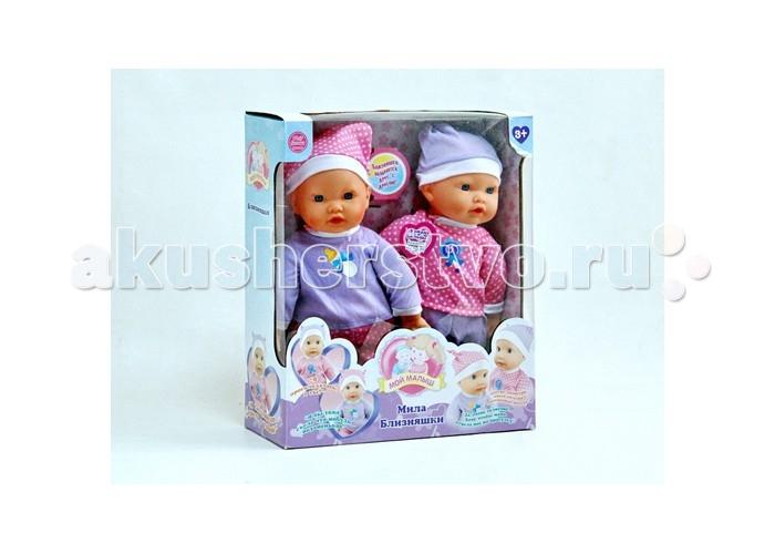 Shantou Gepai Куклы интерактивные БлизняшкиКуклы интерактивные БлизняшкиShantou Gepai Куклы интерактивные Близняшки  Интерактивная кукла - замечательный подарок для девочки. А когда в наборе целых две куклы - счастью не будет предела! Тем более, малышки могут разговаривать между собой! Нажми на левую ручку каждой кукле, и ты услышишь их диалог!  Возраст: от 3 лет<br>