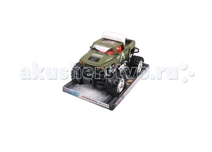 Shantou Gepai Машинка инерционная Военный джип 6137-2FМашинка инерционная Военный джип 6137-2FShantou Gepai Машинка инерционная Военный джип 6137-2F  Машинка цвета хаки выполнена из прочного пластика и имеет большие колеса, характерные для мощных бигфутов. Джип выглядит как военный автомобиль и способен проехать практически по любым дорогам. Его можно катать дома и на улице, наблюдая, как он справляется с различными препятствиями, которые ему специально можно проложить по траектории езды.  Возраст: от 3 лет<br>