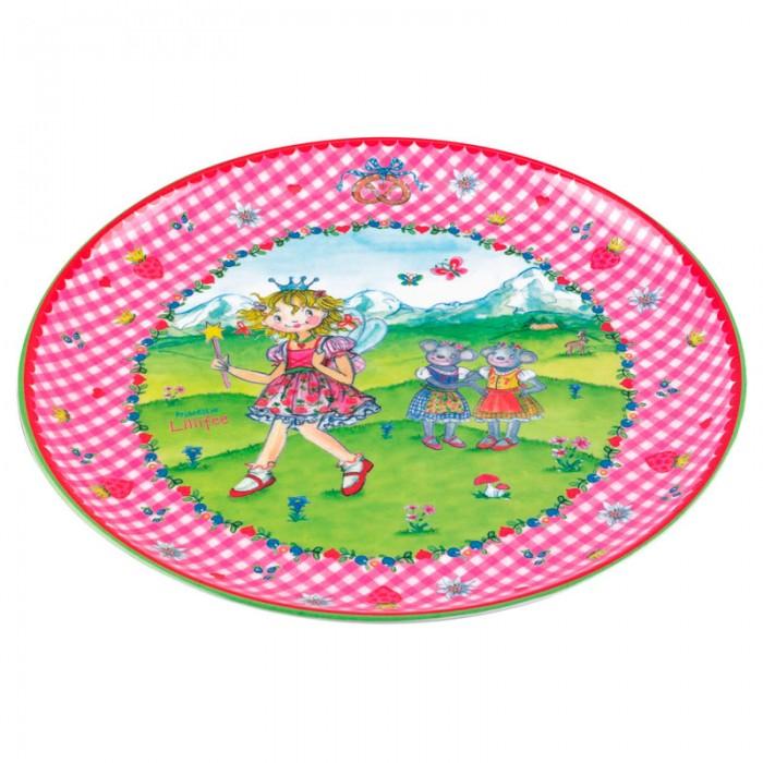 Spiegelburg Тарелка Prinzessin Lillifee 21581Тарелка Prinzessin Lillifee 21581Ярко-розовая тарелочка Prinzessin Lillifee идеальна для девочек. Изготовлена из легкого материала, небьющаяся с нескользящим дном. Подходит для мытья в посудомоечной машине и не подходит для горячей еды и микроволновой печи.<br>