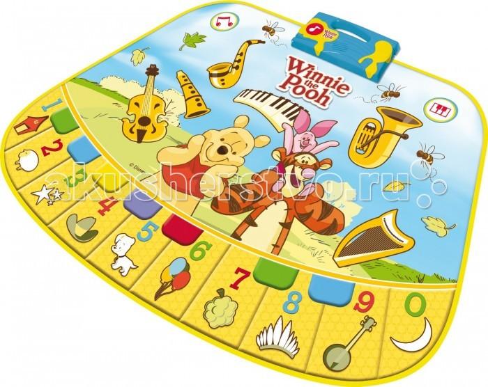 Игровой коврик IMC toys музыкальный Винни Пух