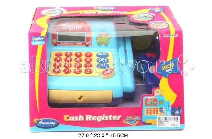Shantou Gepai Касса электронная с набором продуктовКасса электронная с набором продуктовShantou Gepai Касса электронная с набором продуктов имитация магазина для девочек. Игрушка развивает внимание, интерес к работе, увлекательная игра окунет вашу малышку в мир фантазии.   Кассовый аппарат оборудован сканером.  Отсек для денег выдвигается нажатием кнопки OPEN. Касса оборудована калькулятором. При нажатии на клавиши издается звук пик. Прикладывая пластиковую карту в специальный отсек, так же издается звук пик.  Игрушка работает от 3 батареек АА (в комплект не входят).<br>