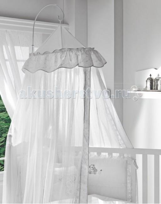 Держатель для балдахина Fiorellino RomanticaRomanticaДержатель для балдахина Fiorellino Romantica держатель для балдахинов длиной 8 метров;  материал: металл;  идеально подходит для балдахинов Funnababy Lovely Bear White и Lovely Bear Cream;  крепление: зажим;  можно закрепить как в изголовье кровати, так и на боковой борт.  Вес с упаковкой (брутто): 1,5 кг Объем: 0,038 м3<br>