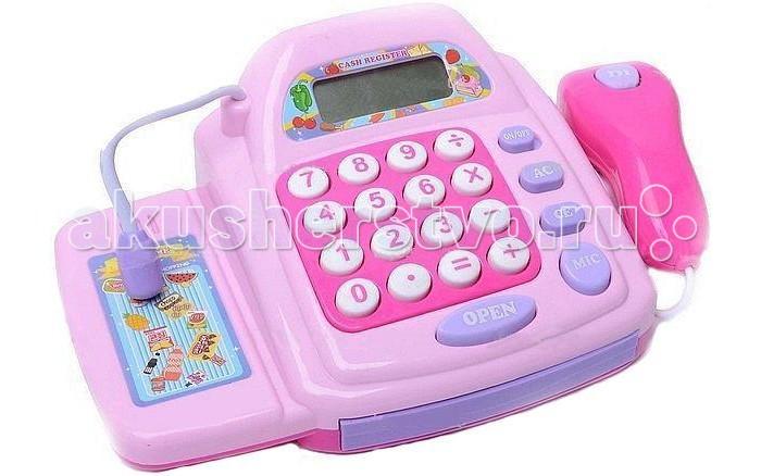 Shantou Gepai Касса электронная с аксесуарамиКасса электронная с аксесуарамиShantou Gepai Касса электронная с аксессуарами имитация магазина для девочек. Игрушка развивает внимание, интерес к работе, увлекательная игра окунет вашу малышку в мир фантазии.   Особенности: касса оборудована микрофоном, сканером, калькулятором отсек для денег открывается нажатием кнопки игра сопровождается звуковыми и световыми эффектами игрушка работает от 3 батареек АА (в комплект не входят).<br>