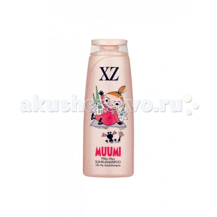 Berner XZ MUUMI Шампунь детский для тела и волос Розовый 250 мл