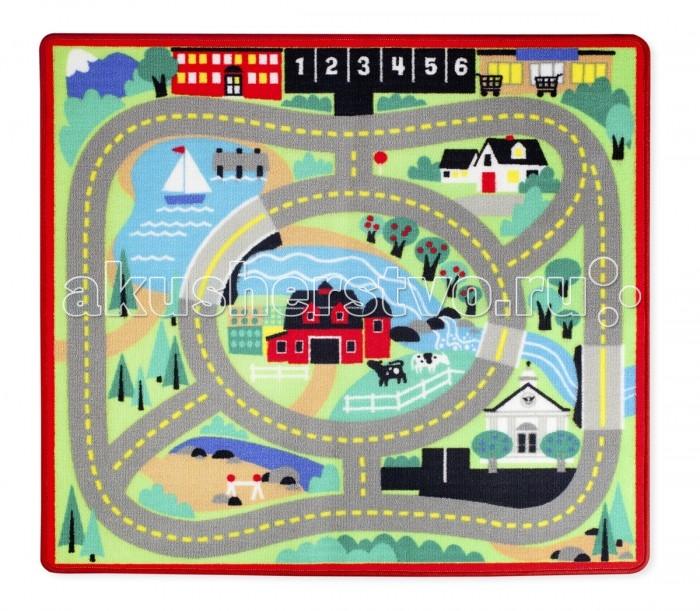 Игровой коврик Melissa & Doug Коврик Город