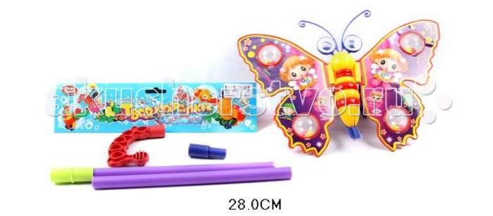 Каталка-игрушка Shantou Gepai Бабочка на палочке