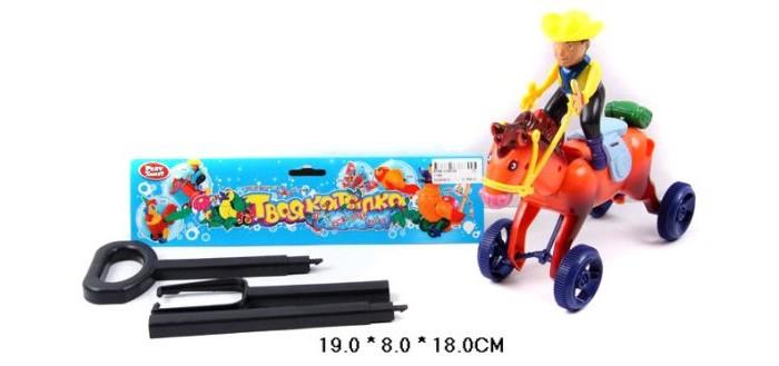 Каталка-игрушка Shantou Gepai Ковбой на палочке