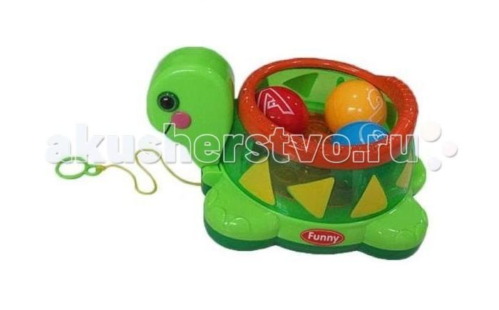Каталка-игрушка Shantou Gepai Черепашка с шариками