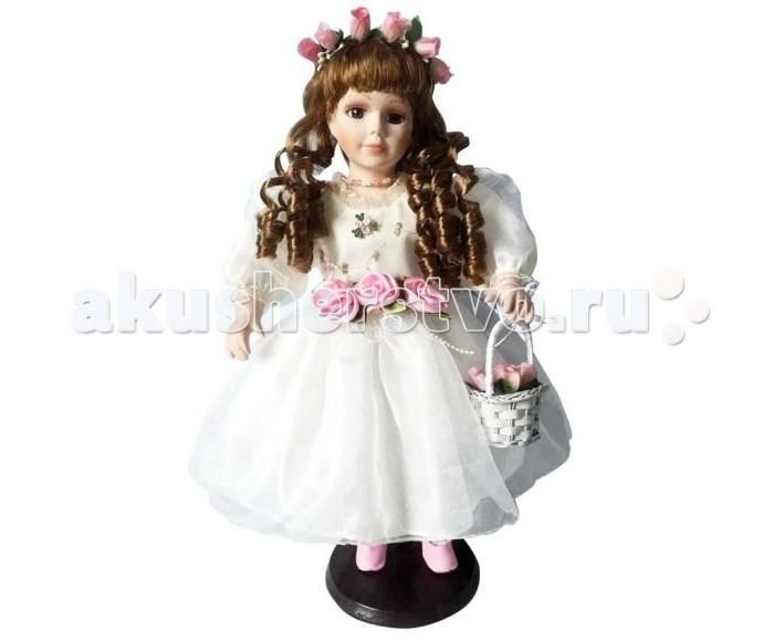 Angel Collection Кукла фарфоровая Кристина 16