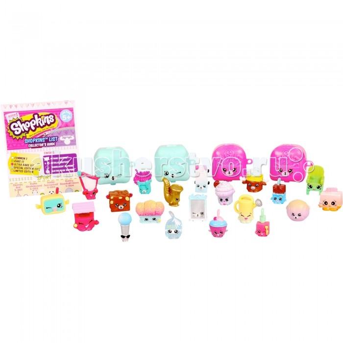 Shopkins Мега набор фигурок (20 шт.)Мега набор фигурок (20 шт.)Игровой набор Шопкинс состоит из 20 фигурок.   Все фигурки в виде персонажей изготовлены из пластика и окрашены в яркие цвета. Также в комплекте можно найти 4 рюкзачка Petkins, которые можно использовать для покупок в игровом сюжете.  В набор также входит буклет коллекционера, который поможет разобраться в персонажах, и определить, к какой команде принадлежит каждый из них.   Такой игровой набор порадует девочку и поможет ей вместе с подругами придумать множество игр.<br>