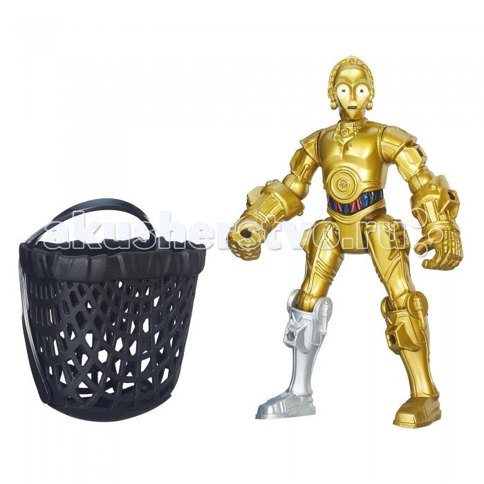 Star Wars Фигурка Hero Mashers C-3POФигурка Hero Mashers C-3POHasbro Фигурка Звездные войны Hero Mashers C-3PO.  Эта фигурка популярного персонажа Звездных Войн С-3РO является разборной, что позволит ребенку создавать различные комбинации с другими фигурами из серии Hero Mashers. Игрушка имеет 9 точек артикуляции, а ее высота составляет 15 см. При изготовлении продукта используется высококачественный пластик.  С-3РO — культовый персонаж, который появлялся во всех эпизодах Звездных Войн, владеет более чем шестью миллионами языков. Был создан как протокольный дроид и верно служил всем своим владельцам.<br>