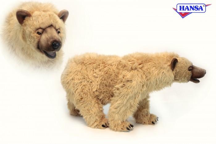 Мягкая игрушка Hansa Сирийский медведь 105 смСирийский медведь 105 смHansa Сирийский медведь 105 см  Торговая марка Hansa стала широко известной и популярной практически во всем мире и получила множество международных призов Игрушки максимально точно копируют оригинал и могут быть выполнены в натуральную величину Шьются и набиваются вручную, что позволяет достигнуть максимальной реалистичности образа Изготавливаются из искусственного меха, специально обработанного для придания схожести с мехом конкретного вида животного Снабжены проволочным каркасом При помощи игрушек Hansa можно создавать различные интерьерные образы в детских, студиях и живых уголках.<br>