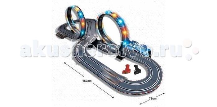 Shantou Gepai Автотрек р/у Slot Racing (свет) 1:43