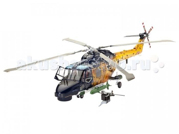 Конструктор Revell Вертолет Westland Lynx Mk.88/HAS. Mk.3Вертолет Westland Lynx Mk.88/HAS. Mk.3Сборная модель британского многоцелевого вертолета Westland Lynx Mk.88/HAS. Mk.3. Разработанный в 1971 году вертолет состоит на вооружении ряда европейский, азиатских и ближневосточных стран. Активно применялся англичанами во время войны за Фолклендские острова. Вертолеты Westland Lynx потопили одно и повредили еще одно торговое судно Аргентины. Кроме того, эти вертолеты были использованы во время конфликтов в Ираке и Ливии.  Внимание! Клей и краски в комплект не входят.  Основные характеристики:   Размер упаковки: 43.5 x 11 х 24.5 см Длина модели: 41.5 см  Диаметр ротора: 40.1 см Масштаб: 1:32 Количество деталей: 265 шт.<br>