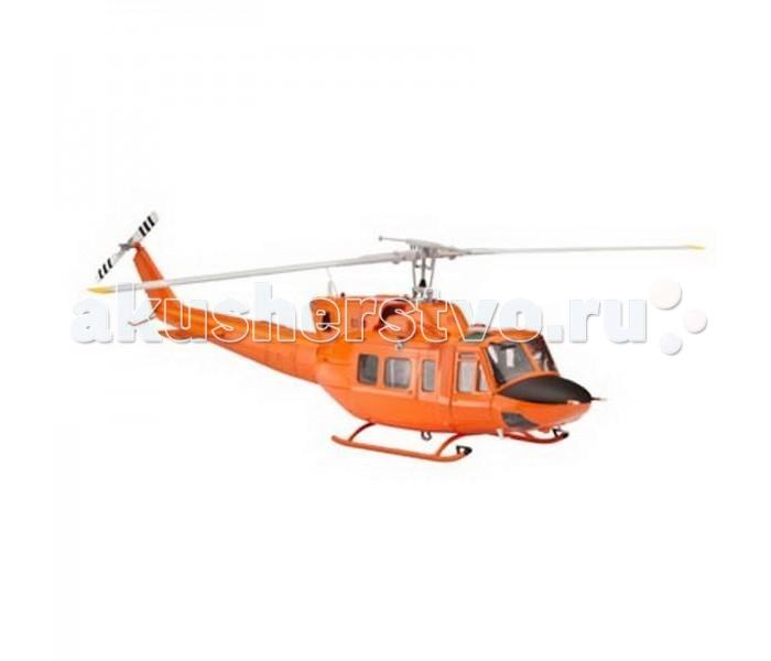 Конструктор Revell Вертолет Bell AB 212Вертолет Bell AB 212Сборная модель вертолета Bell AB 212 от немецкой компании Revell. Модель выполнена из пластика в масштабе 1:72. Модель является уменьшенной копией настоящего вертолета, повторяя все его особенности. Военная версия вертолета Bell 212 состояла на вооружении ВВС ряда стран в течение 40 лет. Машина использовалась для перевозки пехоты, поддержки с воздуха и поисковых операций. Надежный вертолет с хорошими характеристиками нашел применение и в гражданской авиации. Так в 2007 году министерство внутренних дел Германии приобрело два вертолета Bell AB 212 для поисково-спасательных работ на севере страны.   Внимание! Данная модель не собрана! Для ее сборки и покраски вам понадобятся клей и краски. Эти расходные материалы не входят в комплект и приобретаются отдельно. Рекомендуется использовать специальный модельный клей для пластика, а также акриловые или эмалевые краски Revell.  Основные характеристики:   Длина: 242 мм  Диаметр винта: 201 мм  Масштаб: 1:72  Количество деталей: 80 шт.<br>